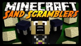 Minecraft: SAND SCRAMBLERS w/ AntVenom & Friends! (Mini-Game)