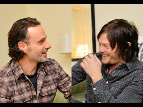 Norman Reedus prank on Andrew Lincoln is hilarious!! The Walking Dead