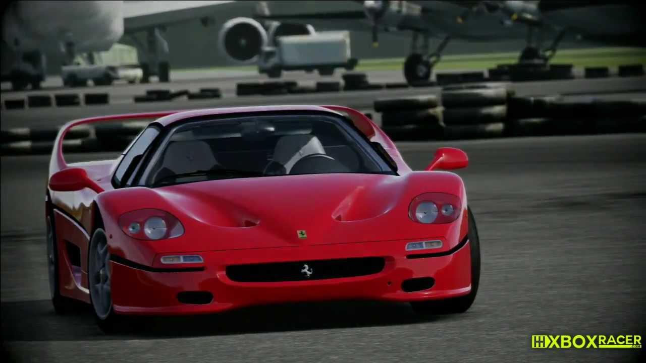 Top Gear Power Lap Ferrari F50 Youtube