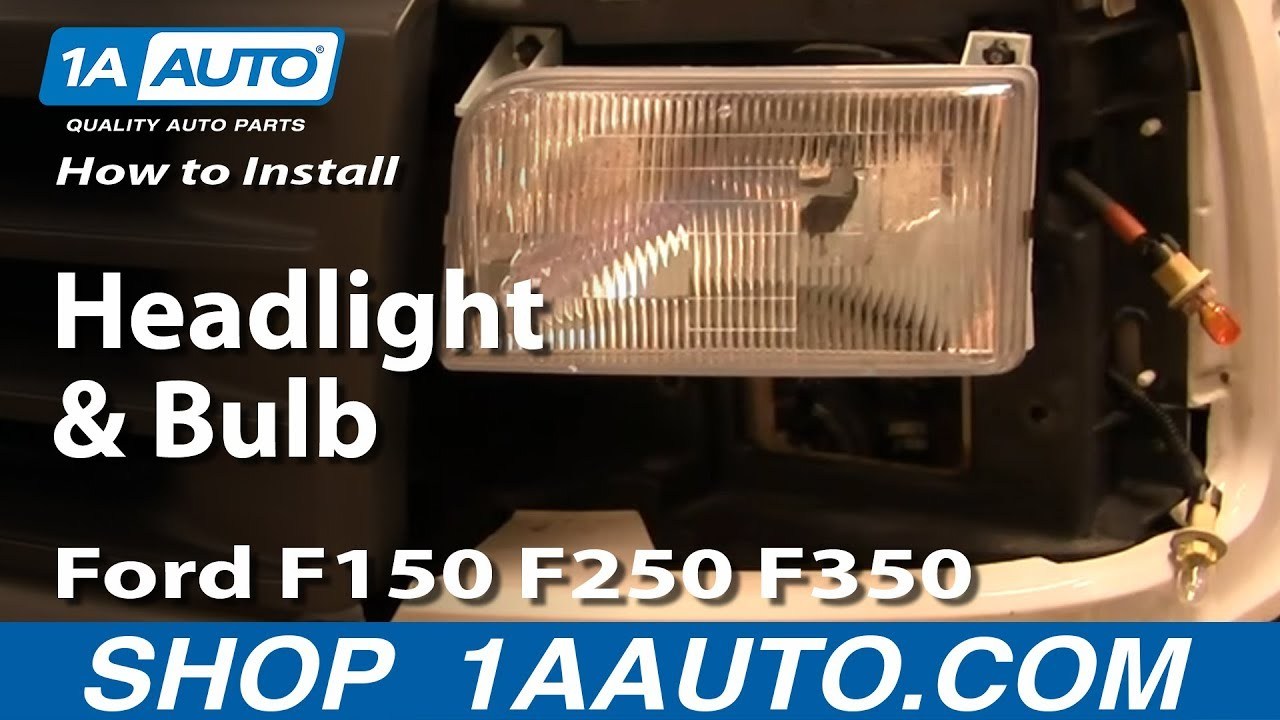 Ford F150 Headlight Bulbs Halogen Replacement Headlight Bulbs | Autos