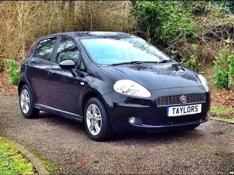 Fiat Grande Punto 1.4 Dynamic Sport 5dr for sale at Taylors Pitstop Garage in Horley West Sussex
