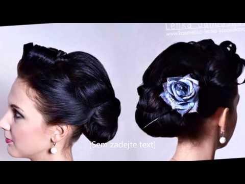 svatební a společenské účesy - hair style a make-up