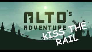 Alto's Adventure:Kiss the rail ios/android gameplay