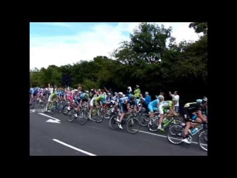 Tour de France comes to Walthamstow, with slo-mo action