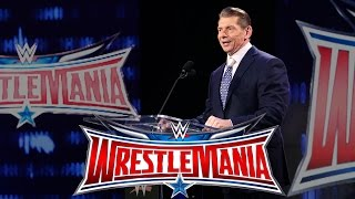 Vince McMahon looks forward to WrestleMania 32 at AT&T Stadium