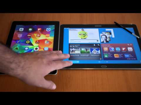 Galaxy note pro 12.2 vs apple ipad