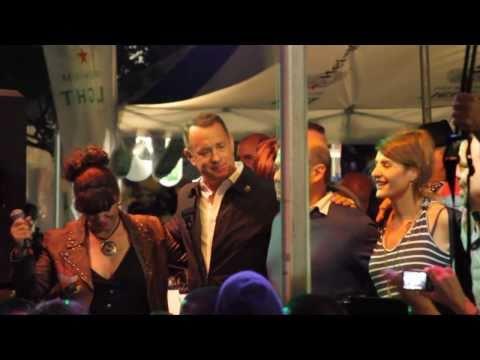 Tom Hanks Live Funny Video - Tom Hanks Greek Dancing on a Canon 7D