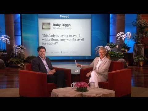 Ellen's Baby Advice for Jason Biggs
