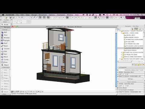 ArchiCAD Tutorial | Project Map vs. View Map