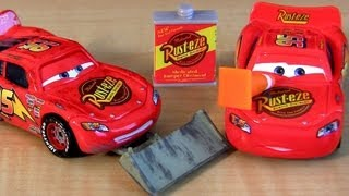 5 Lightning McQueen CARS Collection With Shovel, Cone