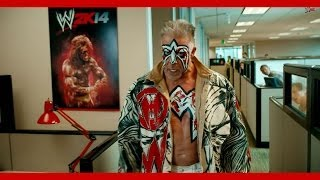 Ultimate Warrior Returns As The WWE 2K14 Pre-order Bonus