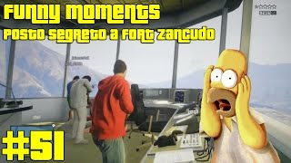 Gta 5 Funny Moments #51 Posto Segreto A Fort Zancudo