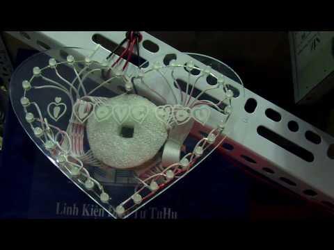 Hướng dẫn làm mạch led trai tim bằng mica - TuHu - mualinhkien.vn