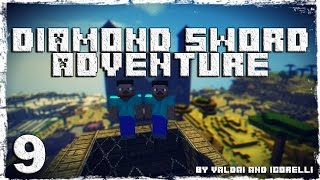 [Coop] Minecraft Diamond Sword Adventure. #9: Адские вагонетки.