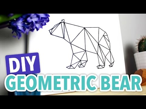 hqdefault jpgGeometric Bear Drawing