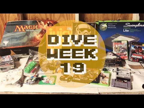 GameStop & Hastings Dumpster Dive - NEAT FINDS! - Week 19 | +Trade Mail #5