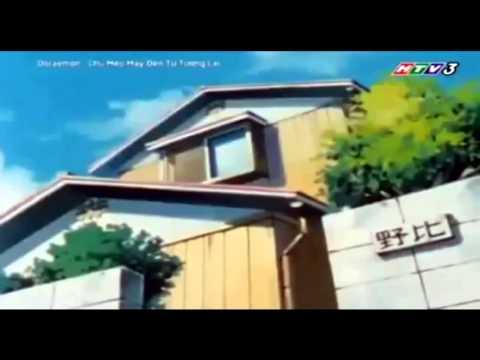 DOREMON Lồng Tiếng HTV3 Tập 135 Miếng Dán Hình Tim Tạo Sản Khoái Phim Mới Thuyết Minh
