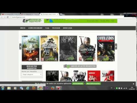 Como descargar juegos para PC 2015 | Full en español CON O SIN UTORRENT