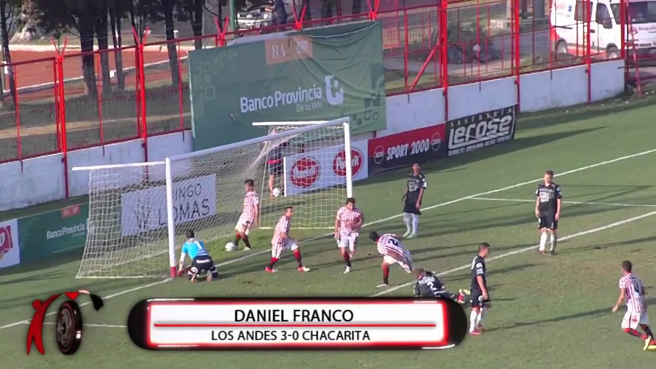 Los Andes 5-1 Chacarita juniors