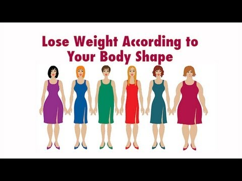 How to Workout & Lose Weight According to Your Body Shape