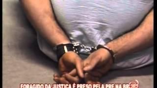Foragido da justi�a � preso pela PRF na BR-262