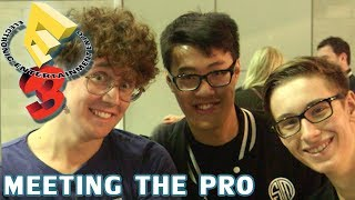 ♥ Sp4zie at E3 - Meeting the PRO
