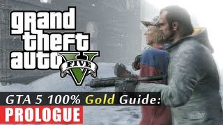 GTA 5 Walkthrough: Prologue First Mission (100% Gold Completion) HD