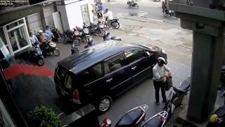 Cận cảnh video dàn cảnh trộm xe SH