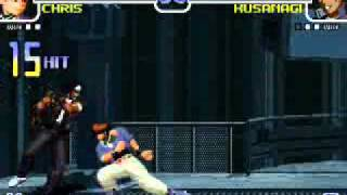 King Of Fighter 2002 Chris Combo Infinito