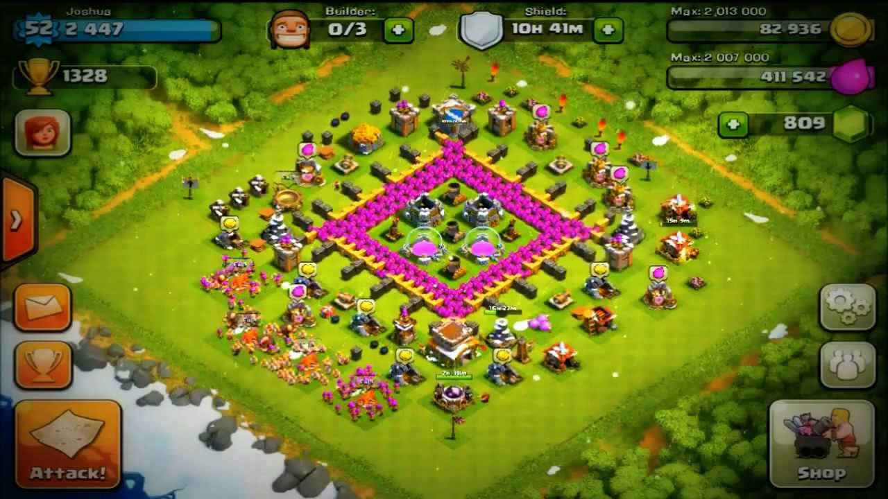 Clash of Clans Best Setup