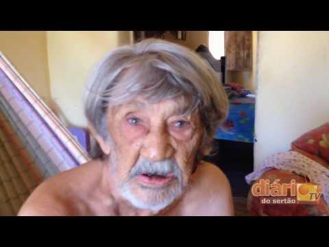 Idoso de 95 anos fala da seca, politica e fé