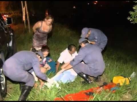 Adolescente é atropelada na calçada por homem com sinais de embriaguez
