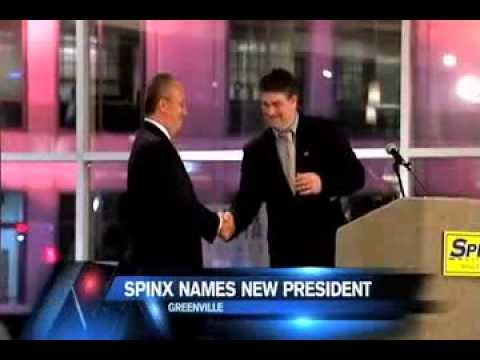 Stan Storti announced as President of The Spinx Co.