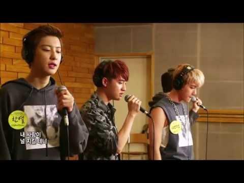 EXO Baby don't cry (sub español + hangul + romanizacion) (A SONG FOR YOU)