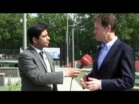 Any visit by Narendra Modi will be very special: Britain's Deputy PM Nick Clegg to NDTV