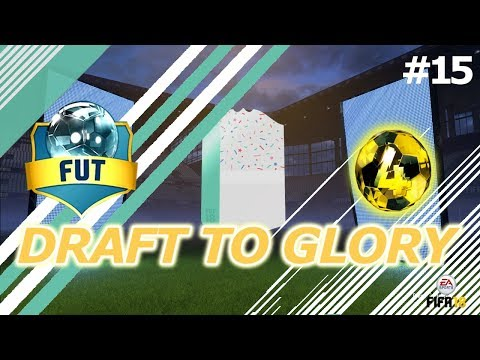 WE GOT A FUT BIRTHDAY CARD! - DRAFT TO GLORY #15! - FIFA 18 Ultimate Team!
