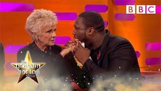 Julie Walters feels 50 Cent's gun shot wounds | The Graham Norton Show - BBC