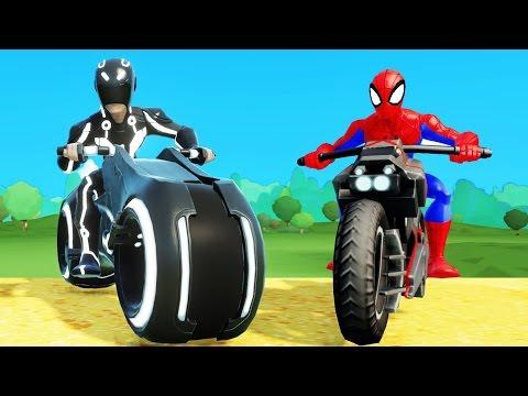 Nhạc Thiếu Nhi Tiếng Anh Vui Nhộn dành cho bé - Người Nhện Spiderman