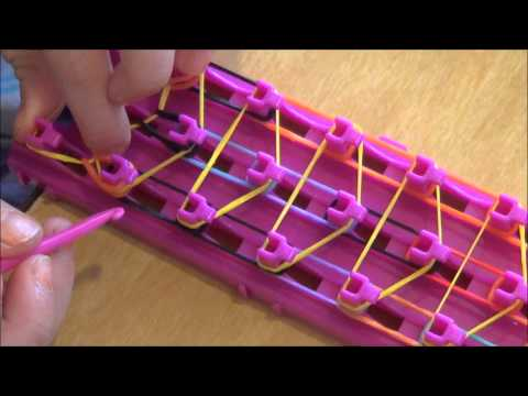 crazy loom bands instructions