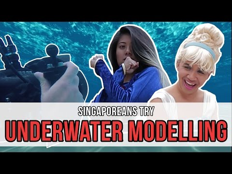 Singaporeans Try: Underwater Modelling | EP 97