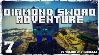 [Coop] Minecraft Diamond Sword Adventure. #7: Мистический лес. [ПЕРЕЗАЛИВ]