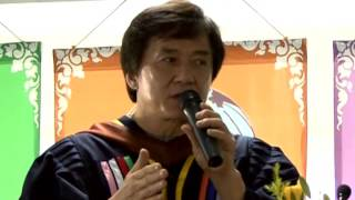 Jackie Chan's Speech At The University Of Cambodia, With