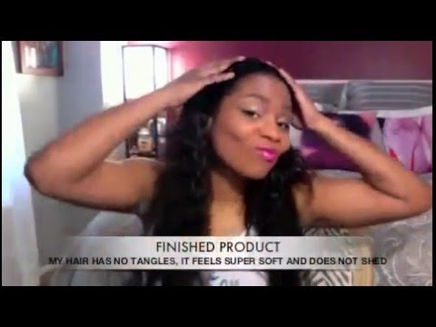 UPDATED SILICON MIX AND KANECHOM ON NATURAL HAIR :BEFORE A