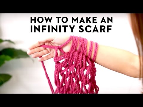 30-Minute Infinity Scarf!
