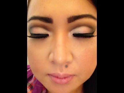 Makeup Cut Crease em Olhos