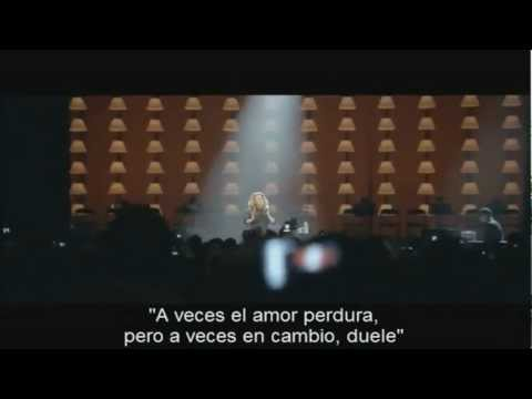 Someone Like You - ADELE - live At The Royal Albert Hall - subtitulada en español - HD - HQ