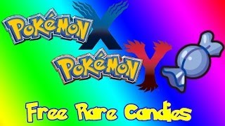 Pokémon X And Y How To Get Free Rare Candies