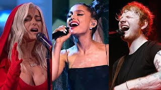 Times Famous Singers Hit Their Highest Notes Ever (Lowest To Highest)