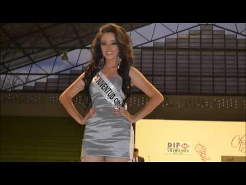 Presidenta del DIF de Villaflores da bienvenida a evento Nuestra Belleza Juventud  2014