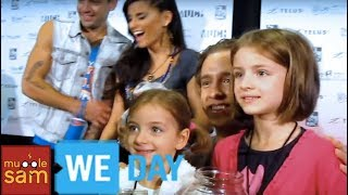 Sophia & Bella Go To WE DAY Toronto 2012 Mugglesam
